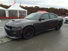 Handling At Summit Point With The 2015 Dodge Charger SRT Hellcat: Getting wet. 2015 Dodge Charger, Dodge Charger Hellcat, Charger Srt8, My Dream Car, Dream Cars, Modern Muscle Cars, Dodge Chrysler, Automobile, Ford