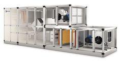 Klima santrali kısaca AHU olarak uygulamada karşınıza çıkacak olan havalandırma sistemidir. Klima santrali basit bir