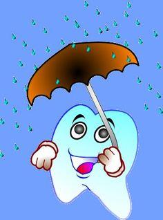 Pan Ząb będzie miał paraol, co uchroni go przed bakteriami :)