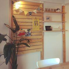 leafgirl09さんの、リビング,ハンドメイド,DIY,カフェ風,3Coins,ディアウォール DIY,のお部屋写真