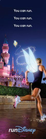 all it takes is faith and trust ...oh, and something I forgot... dust!  My girlfriend does half marathons. She is amazing. She went to Disney with me for the first time and she ran her first runDisney Princess Half Marathon. It was so awesome to see her run there. And then share my childhood memories with her ...We are going back in January, 2014.