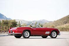 Ferrari 250GT LWB California Spider Expected To sell For $11 million • Petrolicious Amelia Island, Back On Track, Pebble Beach, Day Off, Palm Beach, Ferrari, Spider, California, Things To Sell