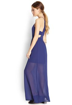Sleek Cutout Maxi Dress | FOREVER21 - 2000070755