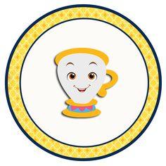 "Convites Digitais Simples: Kit de Personalizados Tema ""A Bela e a Fera"" para Imprimir Disney Images, Disney Pictures, Glitter Party, Beauty And The Beast Diy, Diy Beauty, Wallpaper Powerpoint, Gingerbread Decorations, Bday Girl, Paper Flowers Diy"