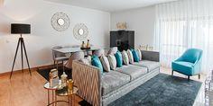 Um apartamento capaz de proporcionar novas sensações com o propósito de decorar a sua vida.