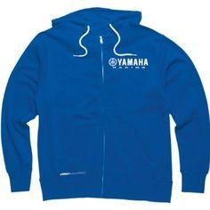 Sky Blue Yamaha Zip Up Hoodie is so Fly... http://hotzipuphoodies.com #fashion #hoodies #zipuphoodies #blue #yamaha #sports
