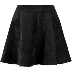 Remi Cord Full Skater Skirt ($19) ❤ liked on Polyvore featuring skirts, bottoms, faldas, a line flared skirt, skater skirt, circle skirt, a line skirt and knee length a line skirt