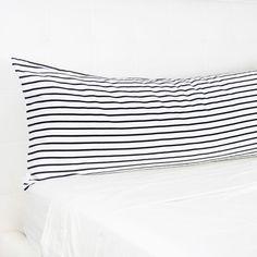 Decorative Body Pillow Cover 20 x 54 inches Quatrefoil Navy Blue
