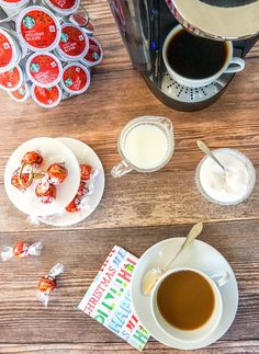 It's easy to put together a festive holiday bar simply by including a few perfect pairings. Opening A Coffee Shop, Restaurant Marketing, Coffee Tasting, Home Recipes, Holiday Festival, Peppermint, Easy Meals, Food And Drink, It's Easy