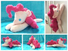 Custom My Little Pony Inspired Pinkie Pie by EquinePaletteArts