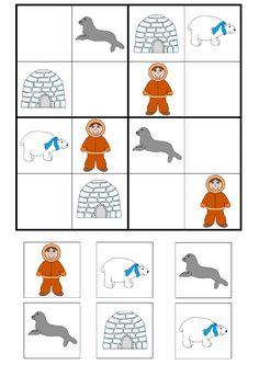 Thema Winter Im Kindergarten, Kindergarten Activities, Preschool Activities, Artic Animals, Polo Norte, Winter Activities, Winter Theme, Children's Place, Kids Education