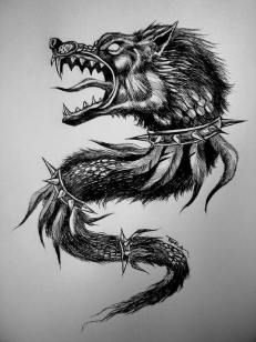 I totally have an appreciation for the shades, lines, and fine detail. This is certainly an incredible tattoo design if you want inspiration for a Wolf Tattoos, Wolf Tattoo Forearm, Forearm Band Tattoos, Warrior Tattoos, Time Tattoos, Body Art Tattoos, 3d Tattoos, Tatoos, Schulterpanzer Tattoo