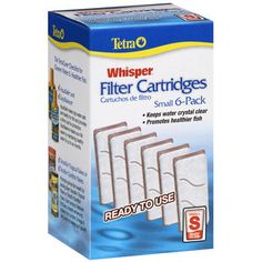 Tetra+Whisper+Small+Filter+Cartridges,+6ct