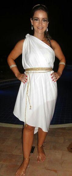 Deusa grega improvisada