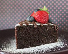 No Bake Chocolate Cake (steamed instead of baked) | Easy Asian Recipes at RasaMalaysia.com