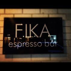 Fika bar in New York City