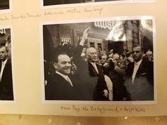 Auch ich habe gerade erfahren dass mein Vater 1958 in Bamberg für die Sicherheit von Adenauer während eines Besuches zuständig war ( rechts im Bild)