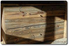szafka ze starego drewna