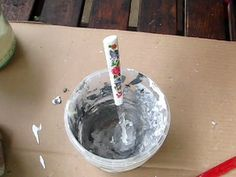 Ideas art for everyone, DIY - Joanna Wajdenfeld: Casings for pots of mirror… Decoupage, Diy And Crafts, Life Hacks, Mirror, Inspiration, Youtube, Pots, Angels, Scrapbooking