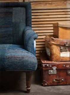 found rentals | indigo and leather