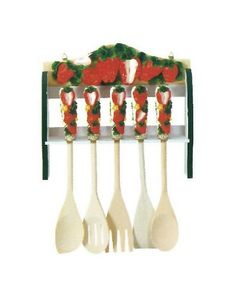 Strawberry Decor I Want This For My Kitchen