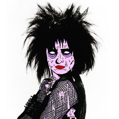 Sucksie sucks +:) #31daysofgrime #digitaldeathandgrime #deladeso #halloween #siouxsiesioux #bae