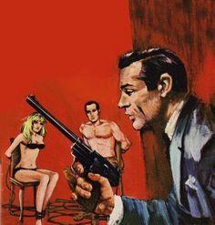 Illustrated 007 - The Art of James Bond: James Bond Comic Covers