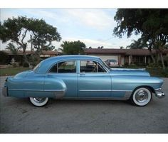 1949 Series 62 - The Blue Bomb. My first car.