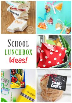 Take a look at these amazing school lunchbox ideas from our featured link party bloggers. Cute!