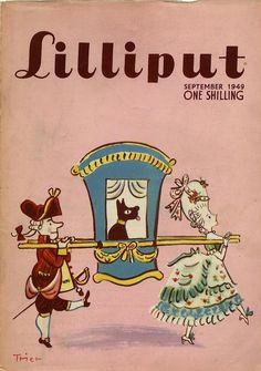 Cover by Walter Trier for Lilliput via Gems.