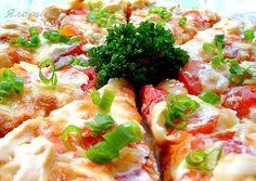 Киш с томатами и брынзой - кулинарный рецепт