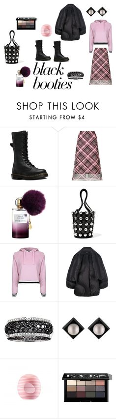 """""""Urban comfy"""" by micettes ❤ liked on Polyvore featuring Dr. Martens, Kenzo, Annick Goutal, Alexander Wang, Topshop, Maison Margiela, Effy Jewelry, Alexis Bittar, Eos and Bobbi Brown Cosmetics"""