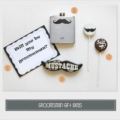 good idea for asking for a groomsman!