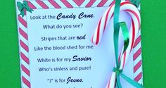 Free printable - Legend of the Candy Cane holiday story for children and adults. Two types of printable cards to choose from.