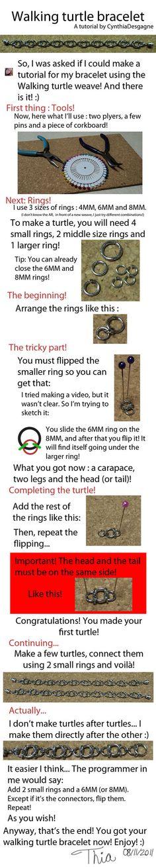 Walking turtle tutorial