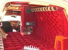 Vans vary from pimped-out-six-figure-adventure rigs, to entry level beaters so that you'll observe a wide selection to pick from. Custom Van Interior, Diy Interior, Shag Carpet, Rugs On Carpet, Lifted Trucks, Chevy Trucks, Tundra Truck, Lifted Tundra, Dodge Ram Van