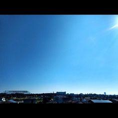 秋晴れIt's fine. ;) #landscape #sky #skyisblue #fineday #motozplay #快晴 #秋晴れ #青空 #風景写真 #定点観測 #ケサソラ #イマソラ
