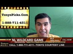 NL Wildcard MLB Picks Predictions Betting Odds Preview 10-5-2016