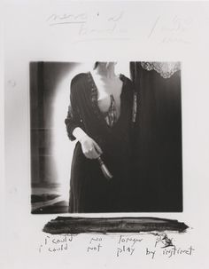 I could no longer play I could not play by instinct, Francesca Woodman, 1977