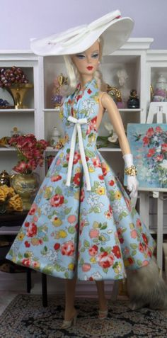 Blue Sway for Silkstone Barbie.