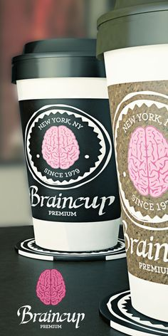 Braincup by Rodrigo César R. Godinho, via Behance