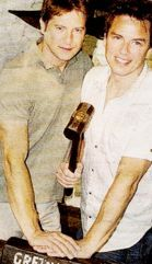 ♥ - John Barrowman and Scott Gill Photo (35996351) - Fanpop