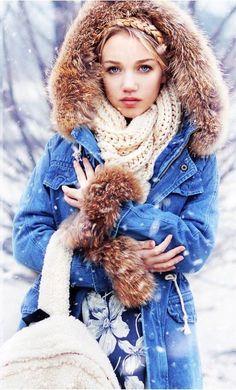Denim en invierno