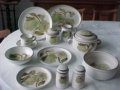 Denby-Troubadour - My Dishes when my mom decides she's ready to pass them down to me...LOVE THEM!!
