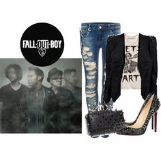 Fall Out Boy Inspired Outfit!