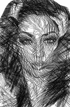 Facial Expressions Digital Art by Rafael Salazar