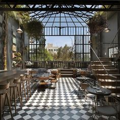 Rooftop dining? Yes please! Romita Comedor // Mexico City