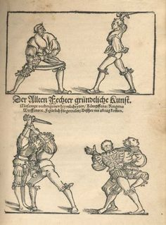 Title: Der Altenn Fechter anfengliche kunst, Page: Title Page, Second edition, Date: 1531 - 1537