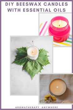 Find step-by-step instructions for how to make beeswax candles with essential oils + premade beeswax options if you are not too enthusiastic about DIY. Making Beeswax Candles, Candle Making, Essential Oil Candles, Essential Oil Scents, Aromatherapy Candles, Aromatherapy Oils, Christmas Floral Arrangements, Nordic Christmas, Christmas Candles