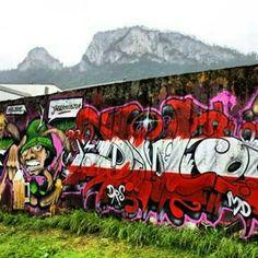 Dr.DuB 1-jägermeister, Kaltenhausen, Austria Austria, Street Art, Comic Books, Comics, How To Make, Cold, Cartoons, Cartoons, Comic